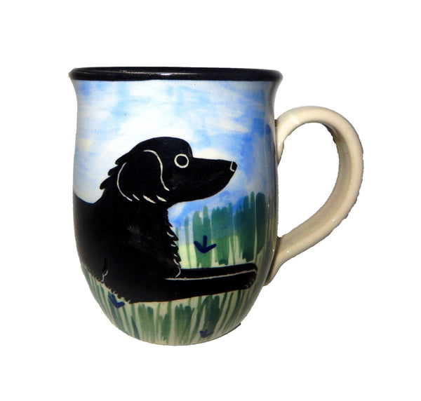 Flat-Coated Retriever Ceramic Mug