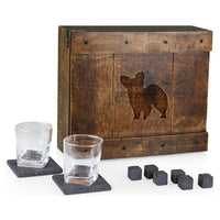 Papillon Laser Engraved Whiskey Box