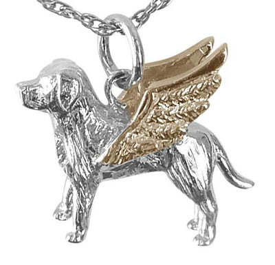 Labrador Retriever Angel Charm