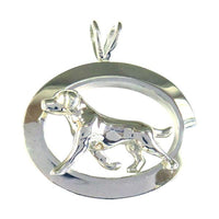 Labrador Retriever Oval Jewelry