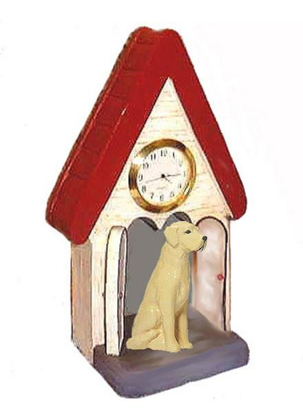 Labrador Retriever Figurine Clock