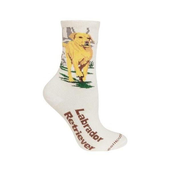 Labrador Retriever Novelty Socks (Size 9-11)