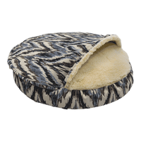 Orthopedic Cozy Cave Dog Bed In Show Dog Fabric