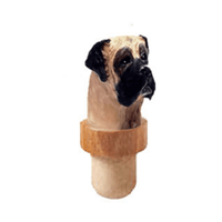 Mastiff Head Cork Bottle Stopper