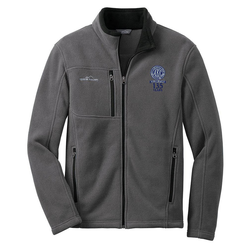 AKC 135th Anniversary Mens Fleece Jacket