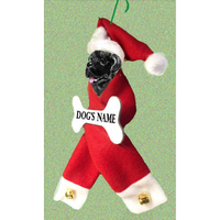 Newfoundland Santa Bone Ornament