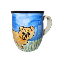 Norfolk Terrier Hand-Painted Ceramic Mug