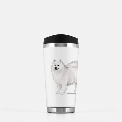 American Eskimo Dog Travel Mug