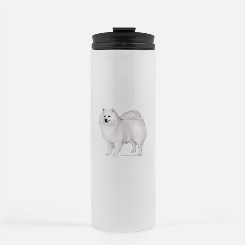 American Eskimo Dog Thermal Tumbler