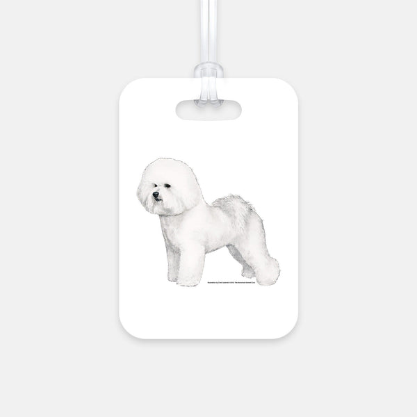 Bichon Frise Luggage Tag