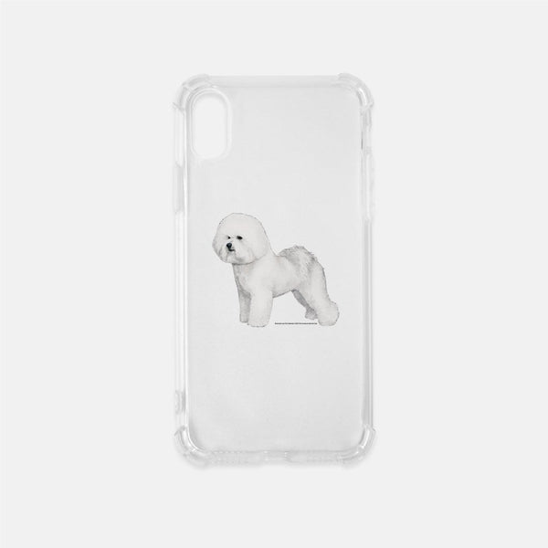 Bichon Frise Clear Phone Case