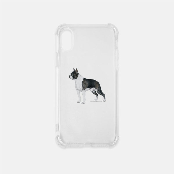 Boston Terrier Clear Phone Case
