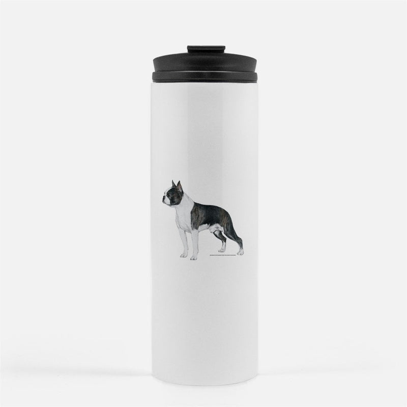 Boston Terrier Thermal Tumbler