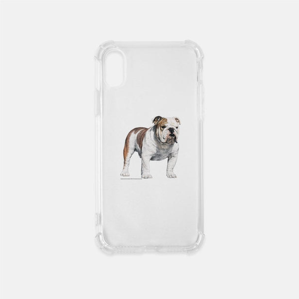 Bulldog Clear Phone Case
