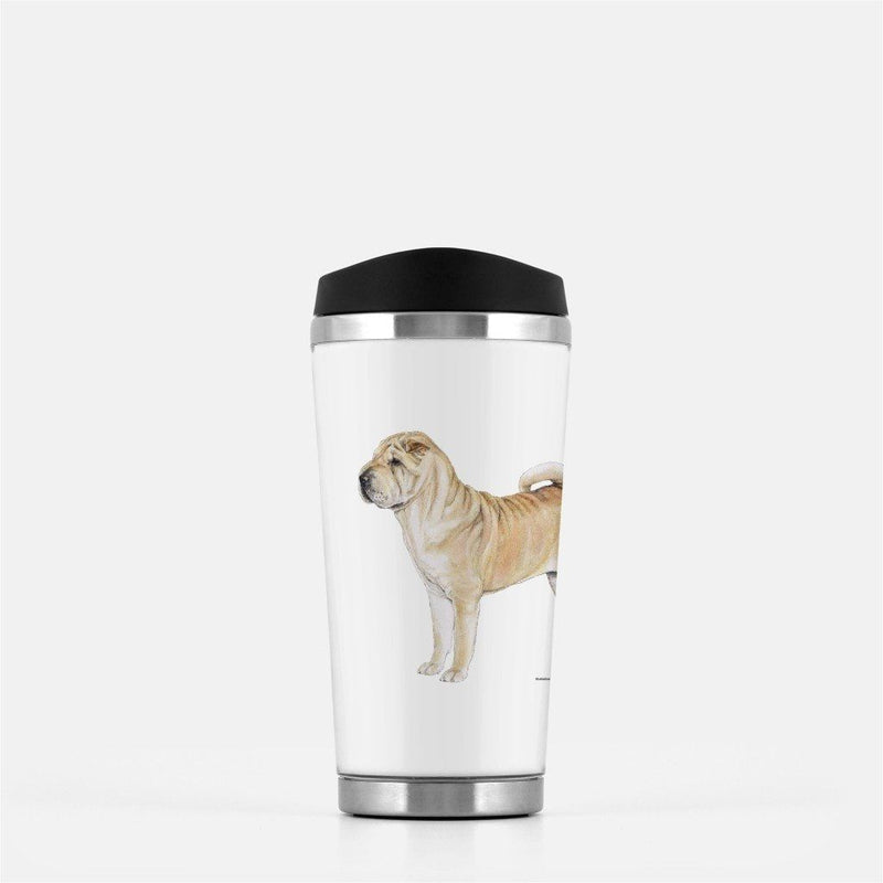 Chinese Shar Pei Travel Mug