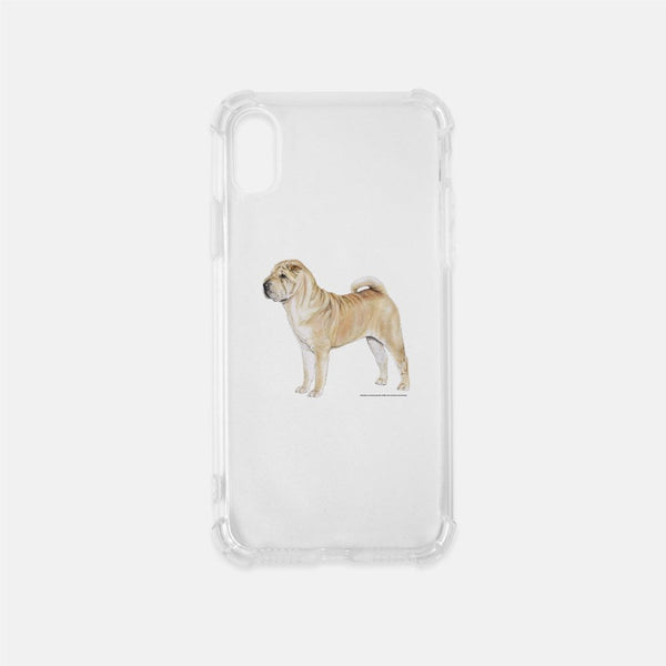 Chinese Shar-Pei Clear Phone Case