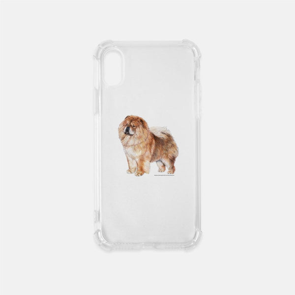Chow Chow Clear Phone Case