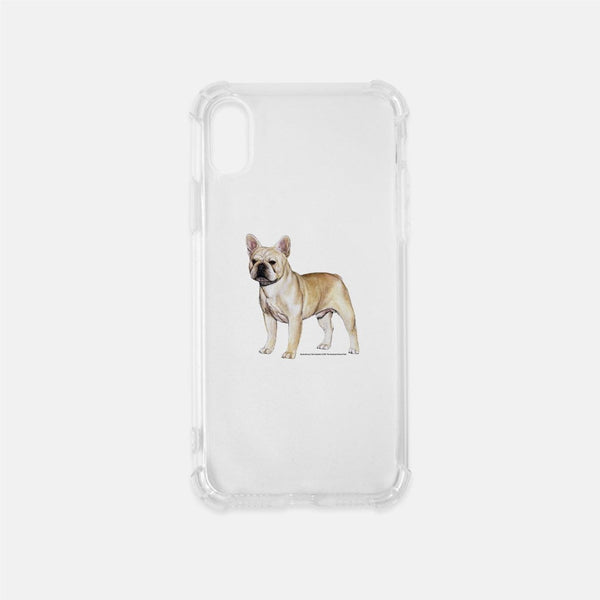 French Bulldog Clear Phone Case