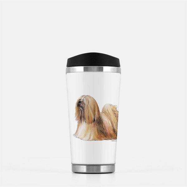 Lhasa Apso Travel Mug