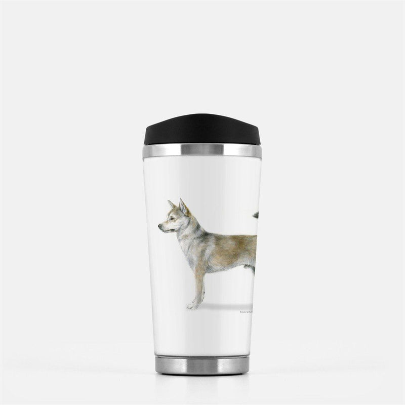 Norwegian Lundehund Travel Mug