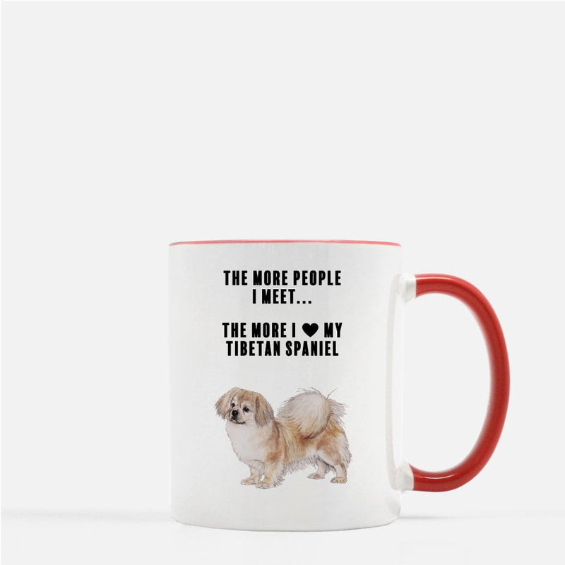 Tibetan Spaniel Love Coffee Mug