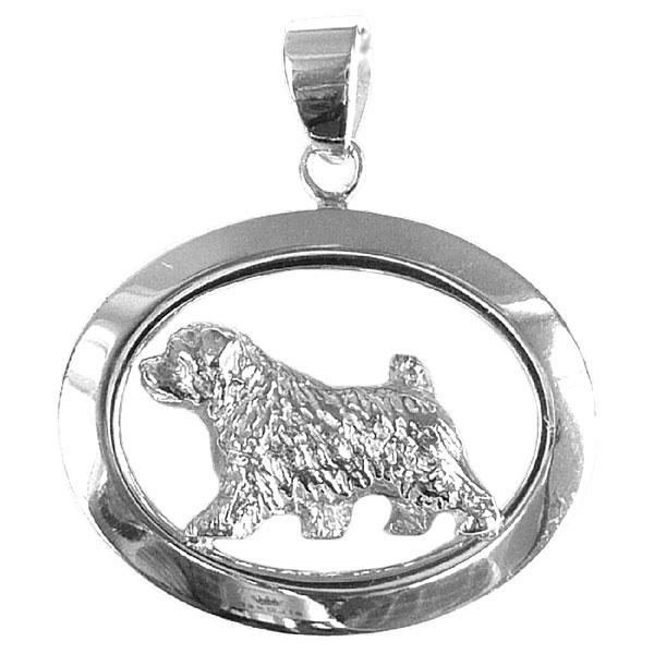 Norfolk Terrier Oval Jewelry