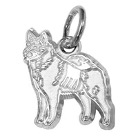 Norwegian Elkhound Charm Jewelry