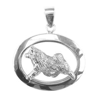 Norwegian Elkhound Oval Jewelry