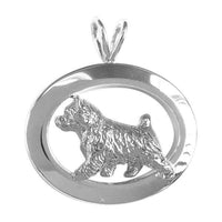 Norwich Terrier Oval Jewelry