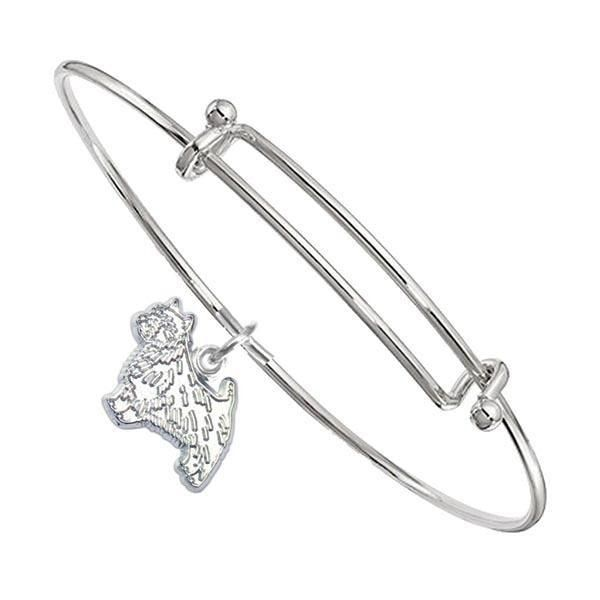 Norwich Terrier Bangle Bracelet