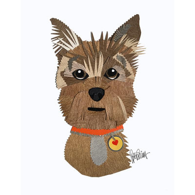 Reed Evins Norwich Terrier Dog Collage
