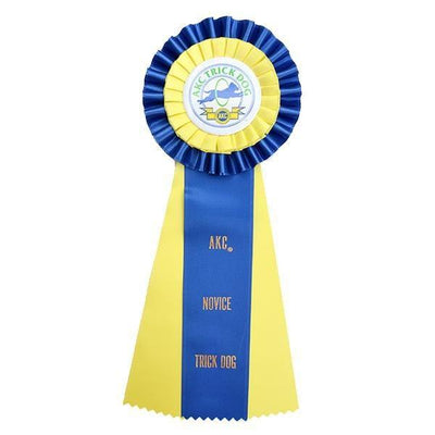 AKC Trick Dog Novice Rosette