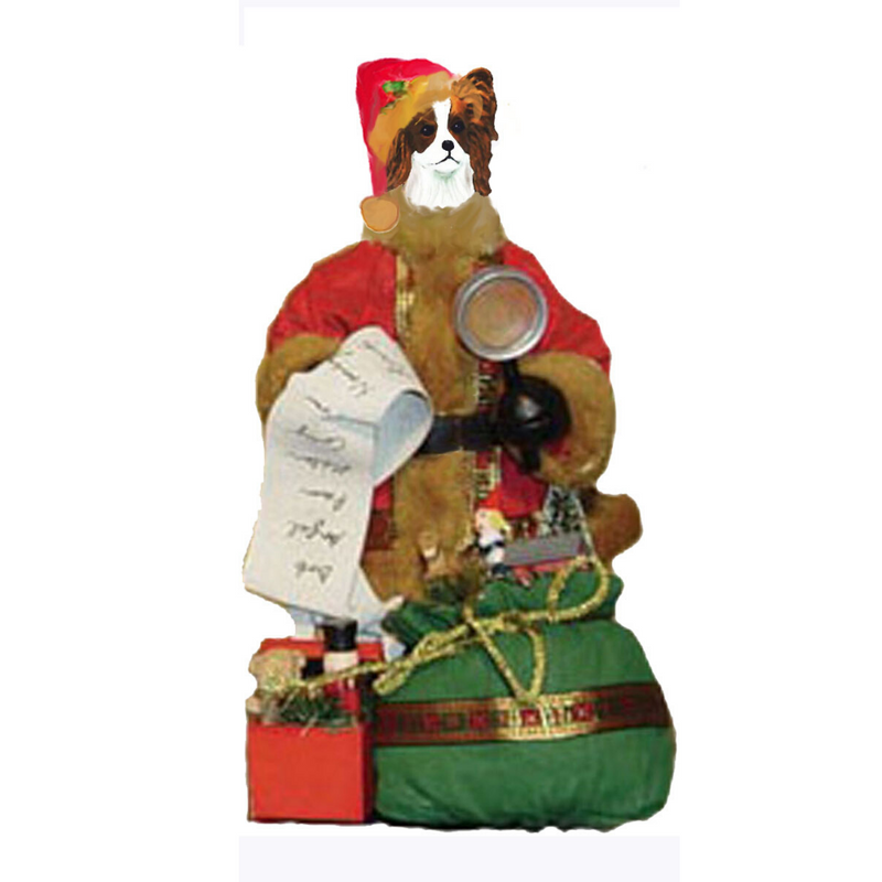 Papillon Toy List Santa Statue