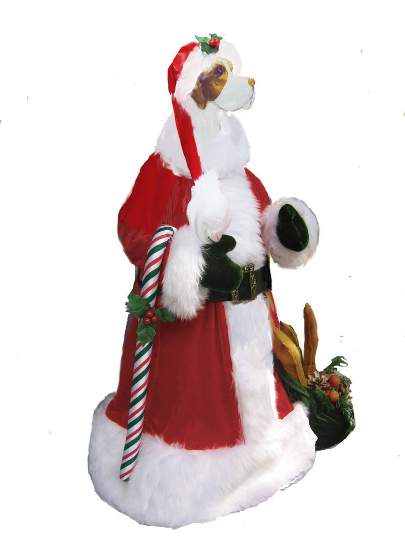 Pointer Large Santa Statue