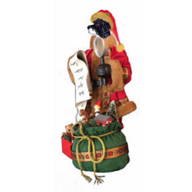 Portuguese Water Toy List Toy List Santa Statue