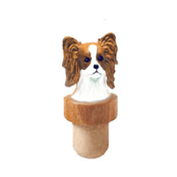 Papillon Head Cork Bottle Stopper