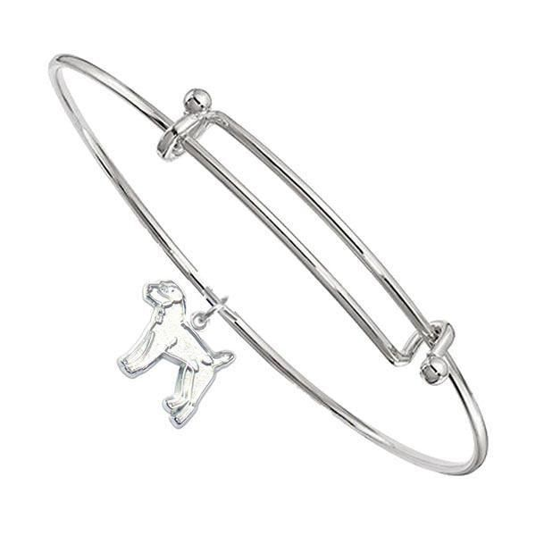 Parson Russell Terrier Bangle Bracelet