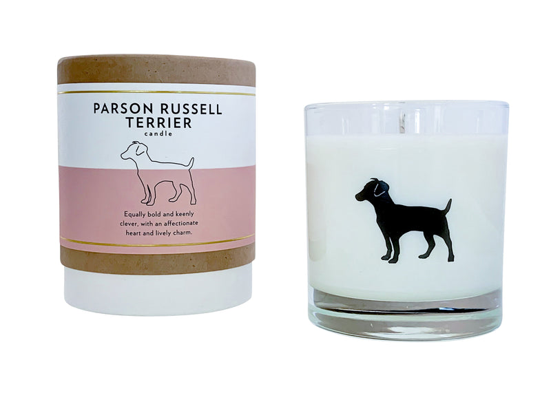 Parson Russell Terrier Candle