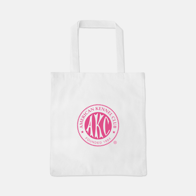 AKC Breast Cancer Awareness Logo Tote Bag