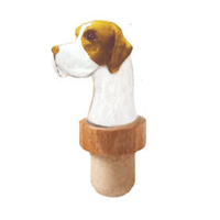 Pointer Head Cork Bottle Stopper