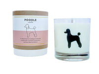 Poodle Candle