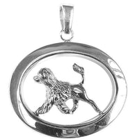 Portuguese Water Dog Oval Jewelry