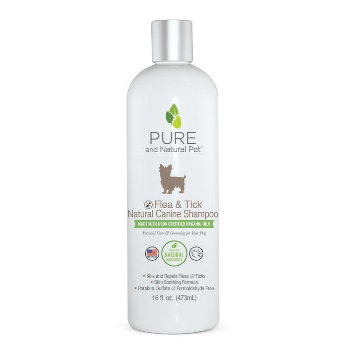Flea & Tick Natural Canine Shampoo