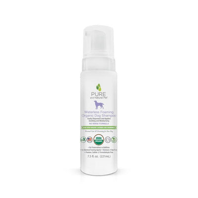Waterless Foaming Organic Dog Shampoo