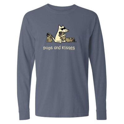 Pugs And Kisses  - Classic Long-Sleeve T-Shirt