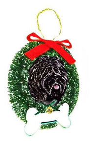 Puli Wreath and Bone Ornament