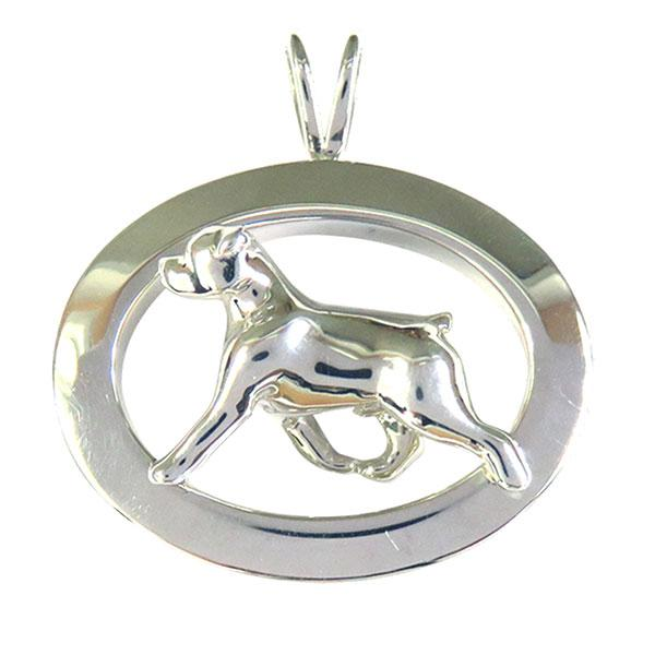 Rottweiler Oval Jewelry
