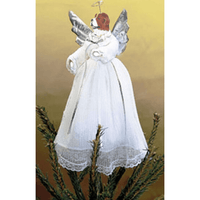 Saint Bernard Angel Tree Topper