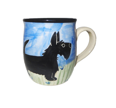 Scottish Terrier Hand-Painted Ceramic Mug