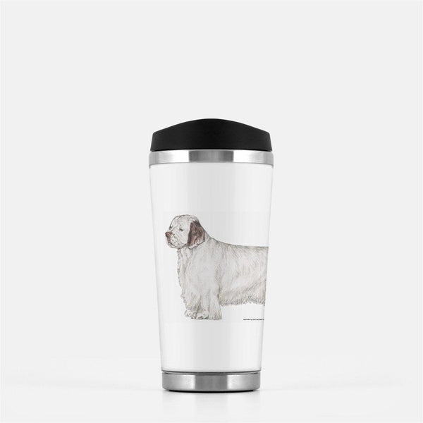 Clumber Spaniel Travel Mug